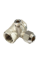 NON RETURN VALVE FEMALE VERTICAL WITH NUT