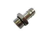 HOSE CONNECTOR MALE CYL. WITH O-RING -3738-